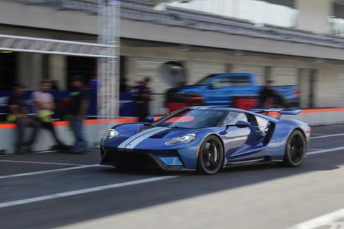 El Ford GT pasó por México para dejar en claro el legado de desempeño que tiene la marca