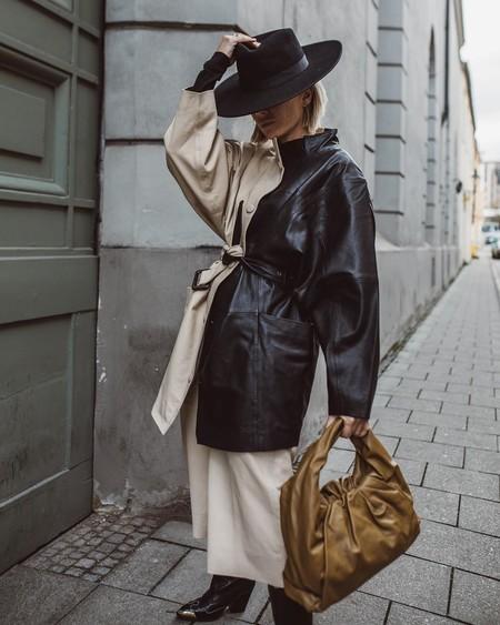 Esta tendencia se ha creado para todas las indecisas: las prendas bicolor inundan el street style