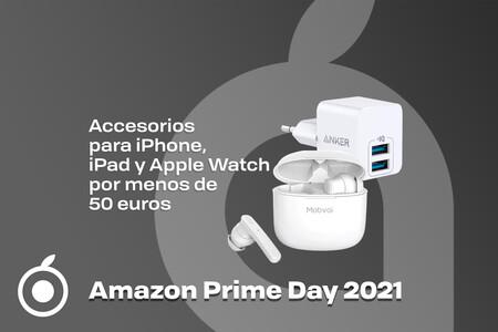 24 accesorios para iPhone, iPad y Apple Watch por menos de 50 euros en el Amazon Prime Day