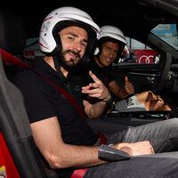Vídeo: Benzema y más jugadores del Real Madrid se lo pasan en grande con el Audi RS e-tron GT en el Jarama