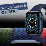 Por el Black Friday, tienes el Apple Watch Series 6 en azul a 60 euros menos de lo habitual en Amazon