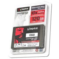 Disdo duro SSD Kingston con 120GB de capacidad por sólo 37,86 euros y envío gratis