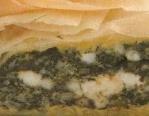Tarta de queso feta