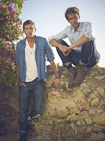 Mavi Jeans para la primavera-verano 2012: Jon Kortajarena & Adam Senn