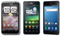 LG, Samsung y HTC predicen sus ventas de Smartphones para 2011