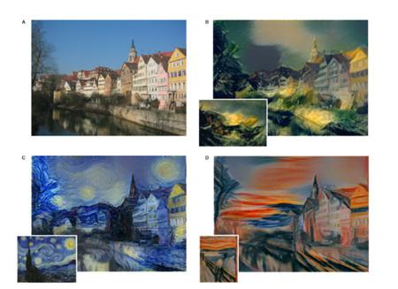 Este algoritmo imita el estilo de los pintores más famosos y lo aplica a cualquier foto