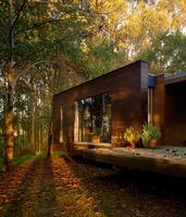 La casa del bosque de robles en Betanzos