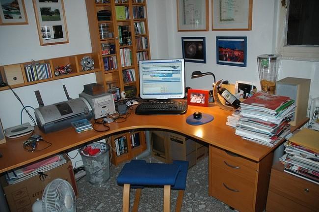 Cu l ha sido la evoluci n del escritorio de trabajo en los for Escritorio puesto de trabajo