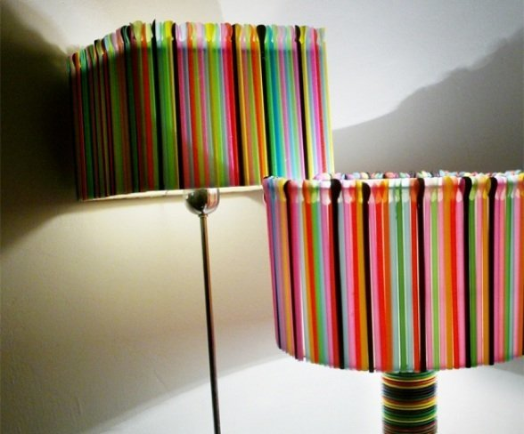 lampara pajitas