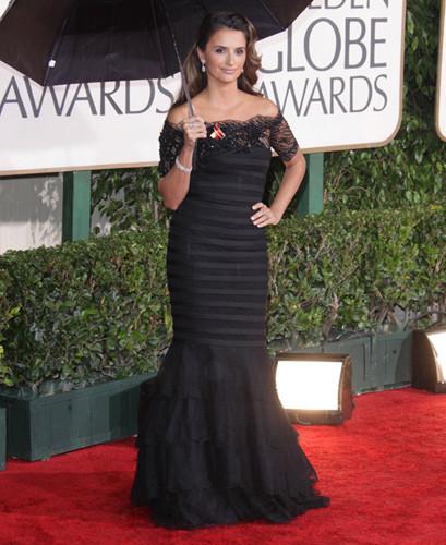 El look de Penélope Cruz en los Globos de Oro 2010 ¿Crees que acertó?