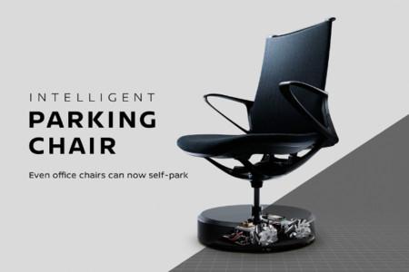 El desorden de las oficinas será cosa del pasado, han llegado las sillas que aparcan solas