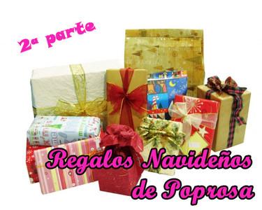 Regalos navideños de Poprosa (II): Perfumes de famosos