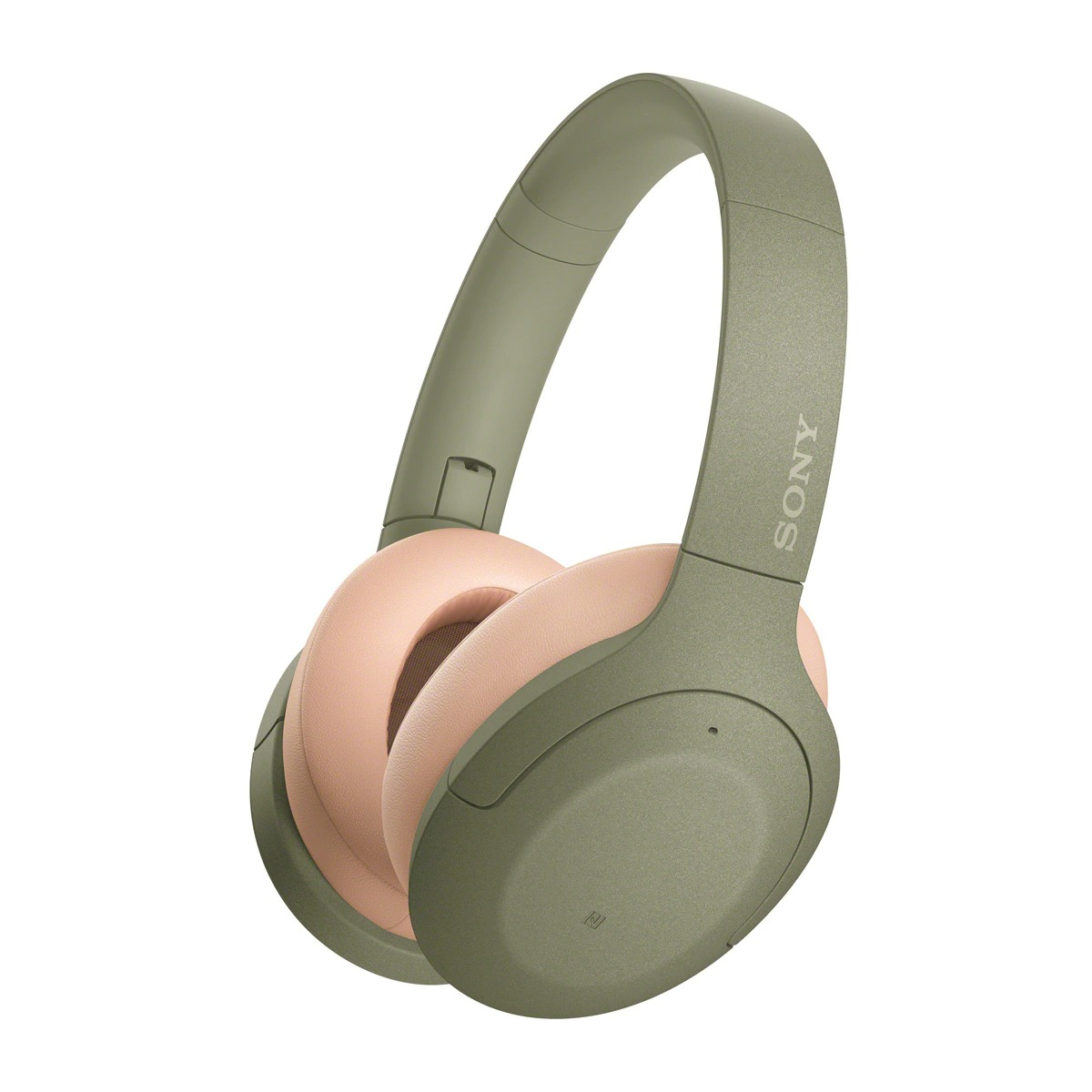 Auriculares de diadema Sony WH-H910N Verde, Hi-Res Audio, Noise Cancelling y NFC/Bluetooth con micrófono