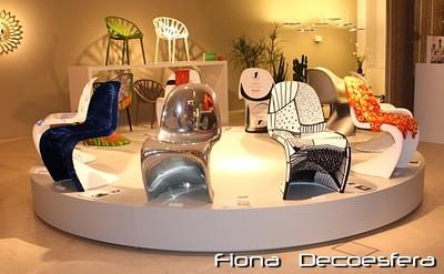 Visita a la Exposición en Vitra: 10 autores interpretan la silla Panton (I)