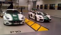 El Ferrari FF también se viste de uniforme en Dubái