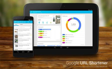 Google URL Shortener para Android, una aplicación no oficial del acortador de URL de Google
