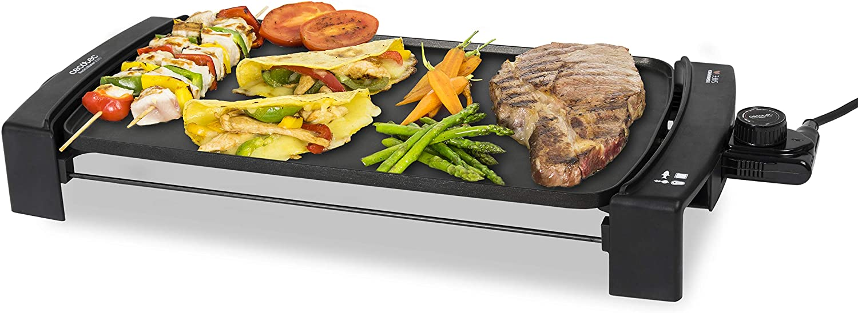 BRA PRIOR - Grill asador con rayas, aluminio fundido con antiadherente Teflon Classic, 28 cm