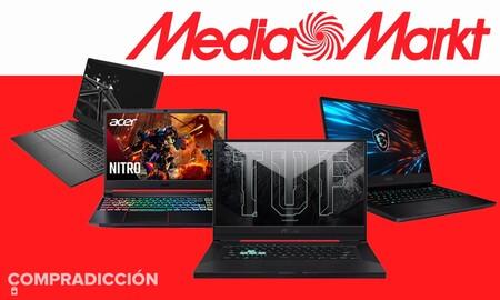 En las ofertas Tech Away de MediaMarkt tienes portátiles gaming de Acer, ASUS, HP, Lenovo o MSI rebajados hasta en 400 euros