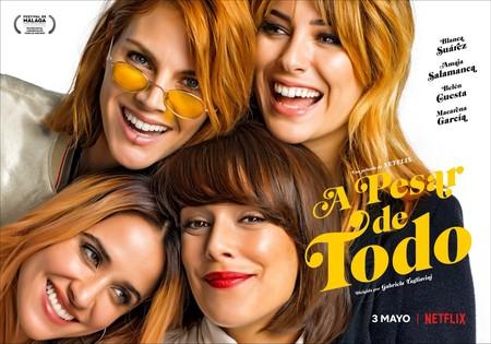 'A pesar de todo' pone fin a la estupenda racha de Netflix con el cine español