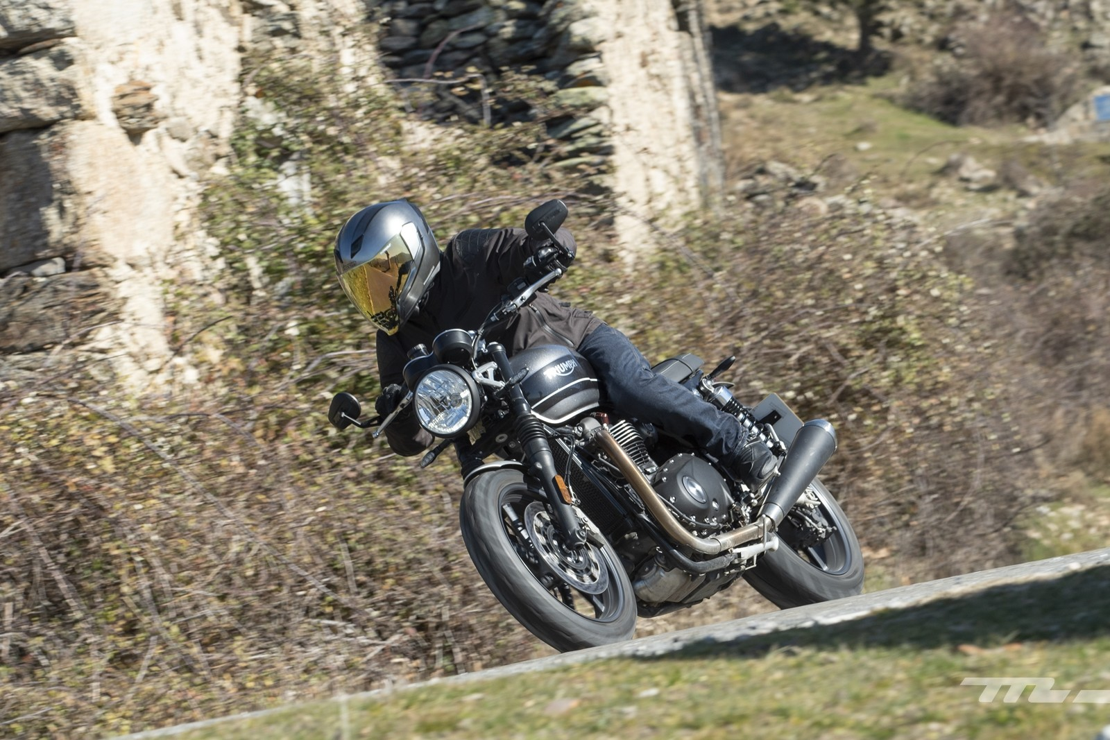 Foto de Triumph Speed Twin 2019, prueba (12/80)