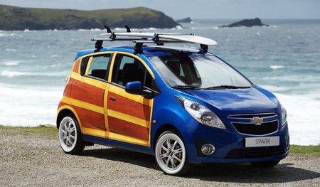 Chevrolet Spark Woody Wagon, ¡más madera!