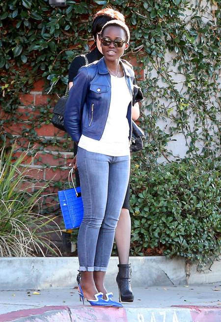 Lupita Nyongo Street Style