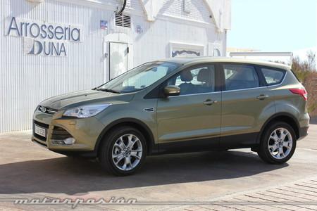 Ford Kuga 2013, toma de contacto
