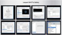Capturas de la build 9a377 de Leopard