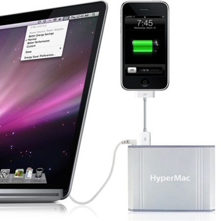 Baterías externas Sanho HyperMac, con hasta 32 horas más para tu portátil