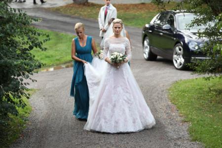 Vestido novia Vicky Andren Gustaf Magnuson boda real