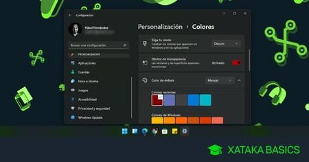 Cómo activar y configurar el modo oscuro de Windows 11