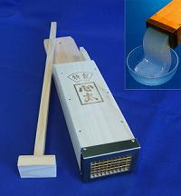 Tokoroten, para hacer espaguetis de agar-agar