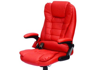 Silla de Escritorio reclinable, con 6 puntos de masaje y calefacción por sólo 86,99 €