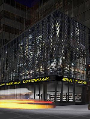 Armani abre tienda en la Quinta Avenida