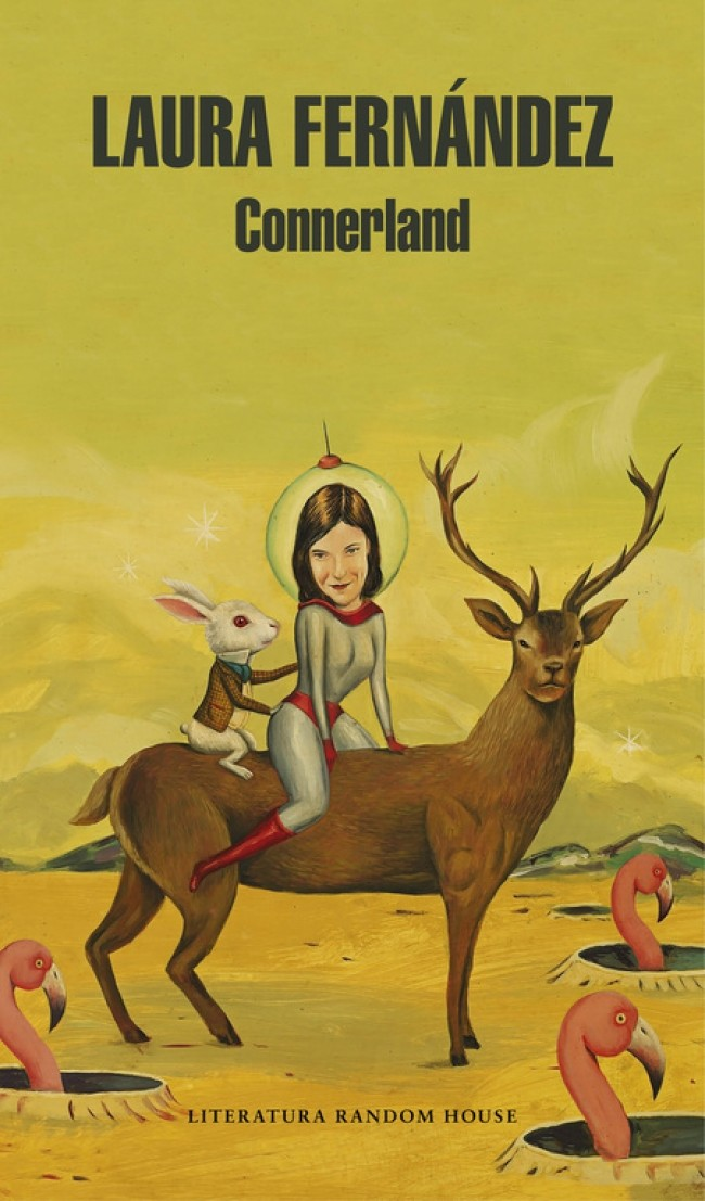 Portada de la novela 'Connerland' de Laura Fernández.