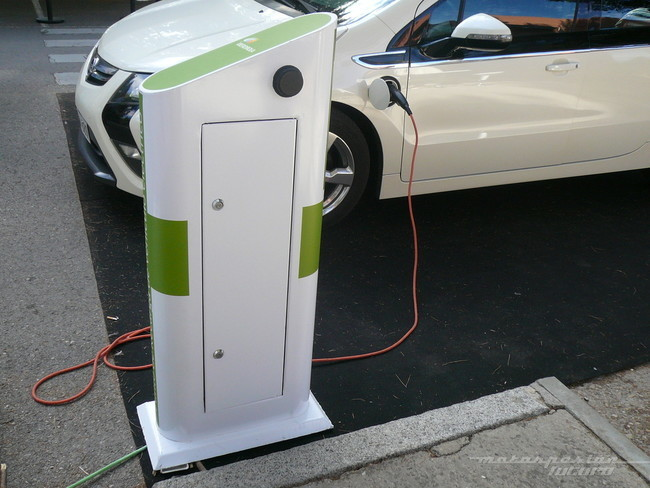 Plazas de aparcamiento para coches eléctricos