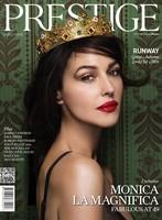 Monica Bellucci, además de diva de D&G, reina de la revista Prestige
