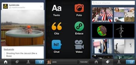 Tumblr también se pasa a código nativo en iOS