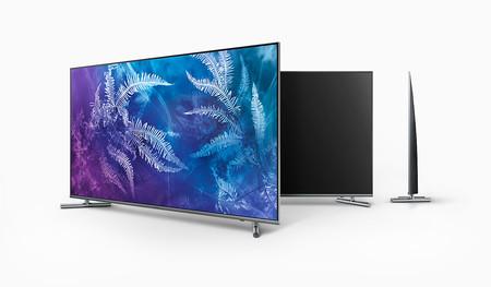 QLED Samsung QE55Q6F de 55 pulgadas + Smart TV Samsung MU6125 de 40 pulgadas por 1.299 euros