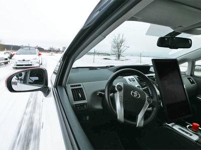 Los coches autónomos rusos tienen un problema: la nieve, y ya se entrenan para dominarla
