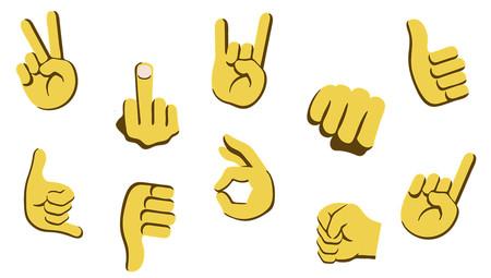 Emojis Manos