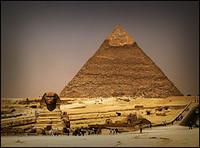 Una cena gourmet en las pirámides de Egipto
