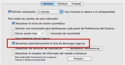 Cómo forzar la actualización del listado de malware en Mac OS X
