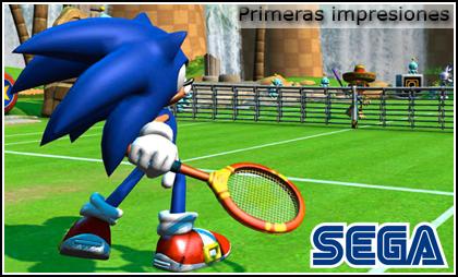 'SEGA Superstars Tennis' para Wii, primeras impresiones