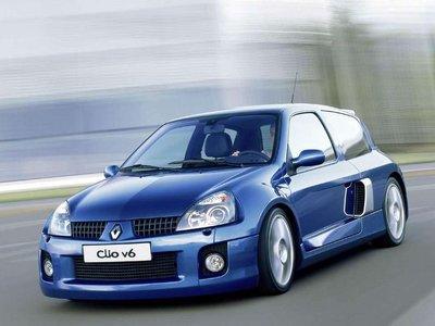Existió un Renault Clio V6. Así de magnífica era la idea.