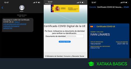 Ya puedes bajar el Certificado COVID en PKPASS para Apple Pay de forma oficial desde la web de Sanidad: así se hace