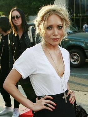 Mary-Kate Olsen en la première de Weeds