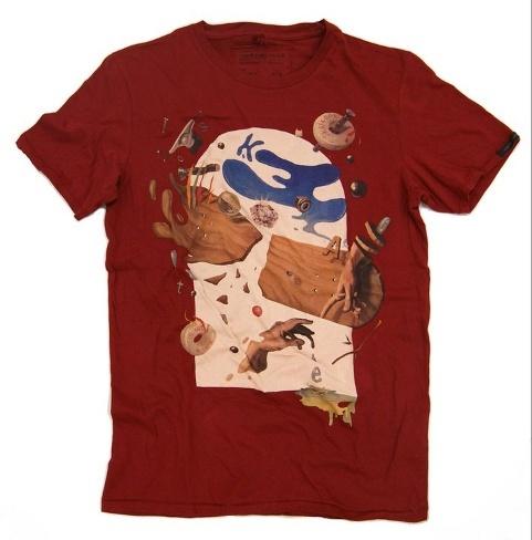 Pictóricas camisetas de Bershka para esta temporada
