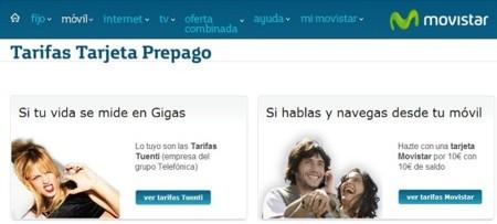 Movistar incluye en su web las tarifas de prepago de Tuenti Móvil ¿posibles movimientos?