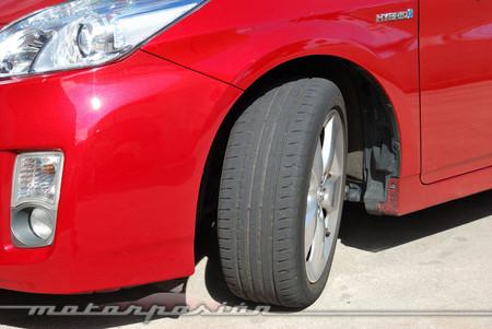 Goodyear EfficientGrip en Toyota Prius